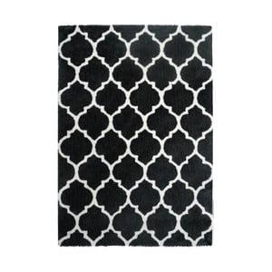 Černo-bílý koberec Kayoom Smooth, 80x150cm