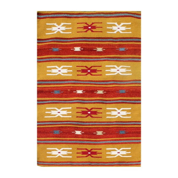 Vlněný koberec Kilim No. 207, 120x180 cm