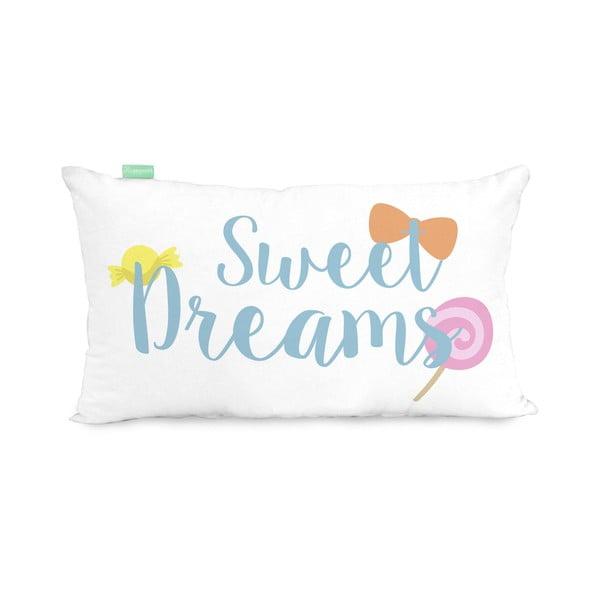 Povlak na polštář z čisté bavlny Happynois Candies, 50 x 30 cm