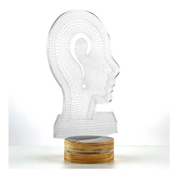 3D stolní lampa Head