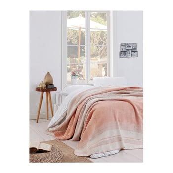 Pătură Puro Lessno, 180 x 220 cm, roz deschis de la EnLora Home