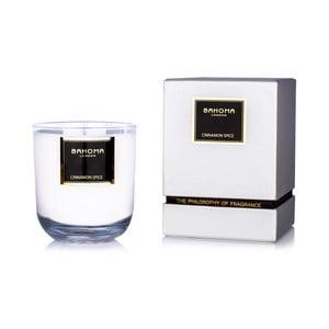 Vonná svíčka s vůní skořice Bahoma London Luxury, 75 hodin hoření