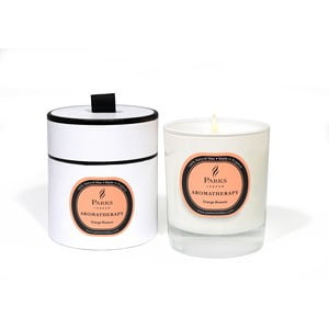 Svíčka s vůní pomerančových květů Parks Candles London  Aromatherapy, 45 hodin hoření