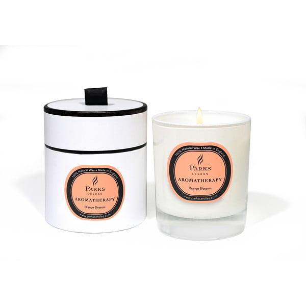 Lumânare parfumată Parks Candles London Aromatherapy, aromă de portocal, 45 ore