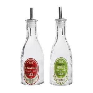 Set 2 sticle ulei și oțet Comptoir de Famille Bout