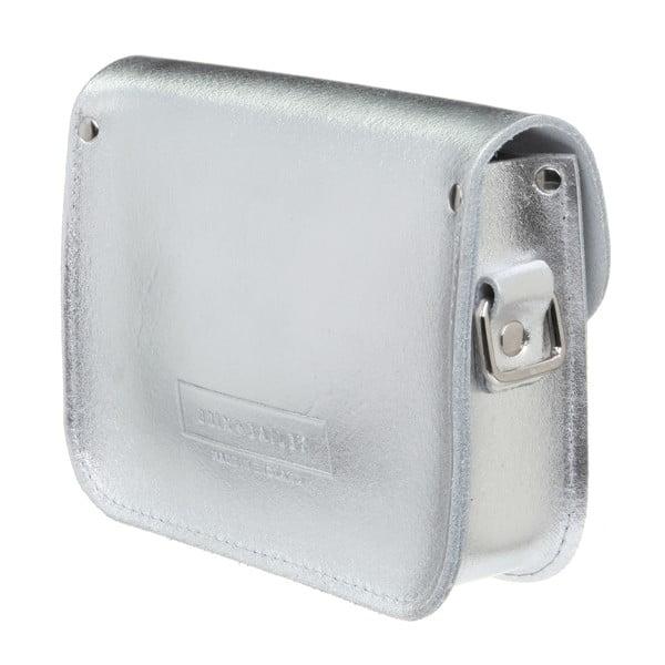 Kožená kabelka přes rameno Pensford Silver