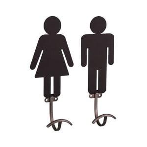 Sada 2 háčků Antic Line Femmes Hommes