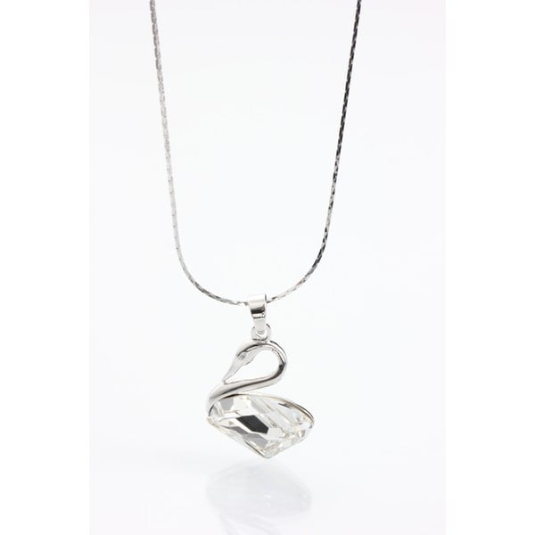 Swans nyaklánc Swarovski Elements kristályokkal - Laura Bruni