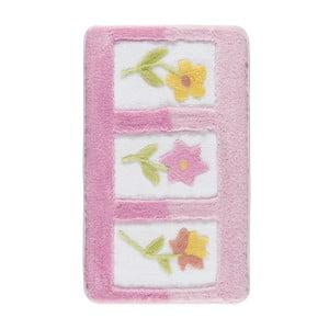 Covoraș de baie Confetti Bathmats Anjelik, 60 x 100 cm, roz