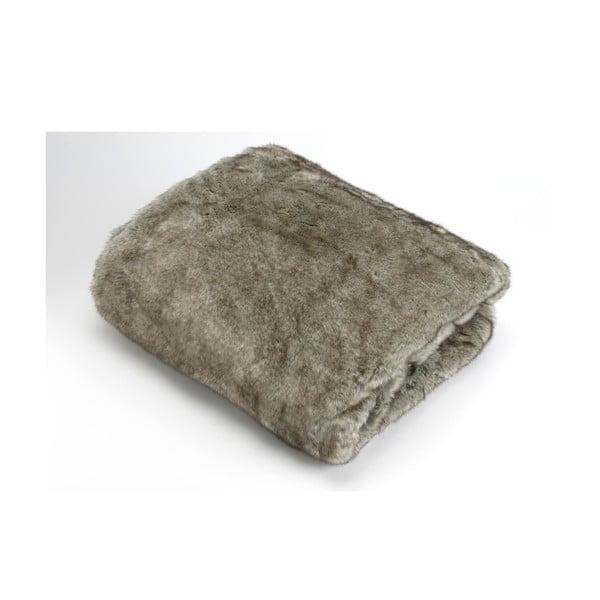 Deka Grey Fur, 170x130 cm
