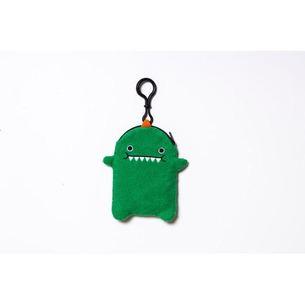 Plyšový obal na telefon, MP3 či klíče Green Dino