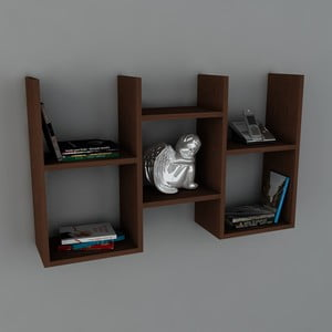 Police Gues Book Wenge, 22x97x59,5 cm