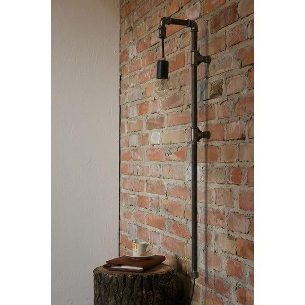 Nástěnné světlo Gie El Home Steel Pipe Black Lungo