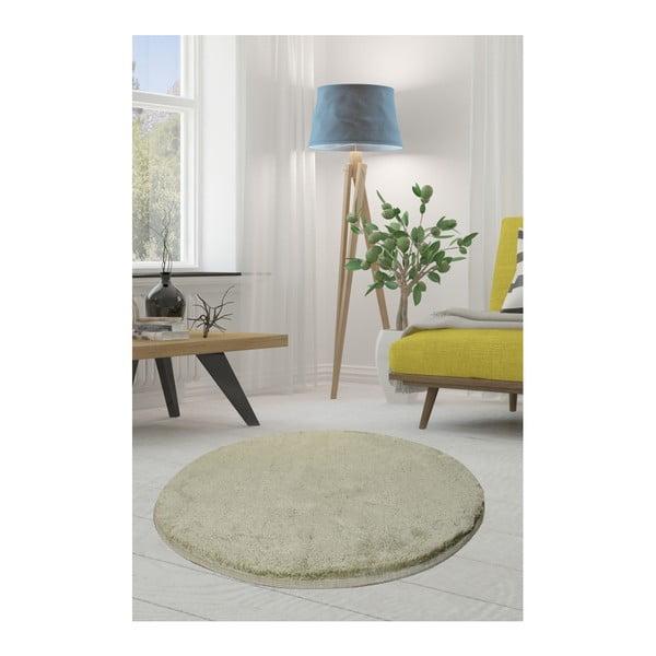 Zielony dywan Milano, ⌀ 90 cm