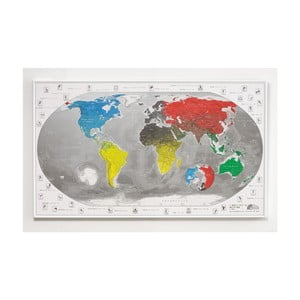 Mapa světa The Future Mapping Company Commemorative World Map, 101 x 60 cm