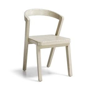 Bílá židle ze dřeva mindi Moycor Muria