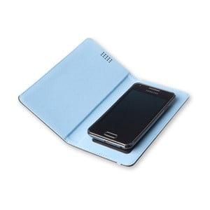 Modré pouzdro na telefon Moleskine Book, extra velký