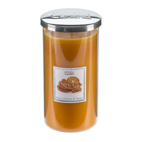 Aroma svíčka s vůní pomerančů a jatnaru Copenhagen Candles Tall, doba hoření 70 hodin