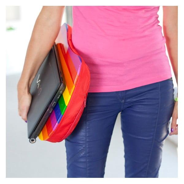 Polštář pod laptop Rainbow