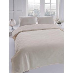Přehoz přes postel Orgu Cream, 160x235 cm