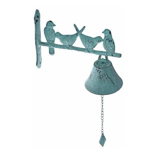 Nástěnný zvonek Ewax Mint Birds