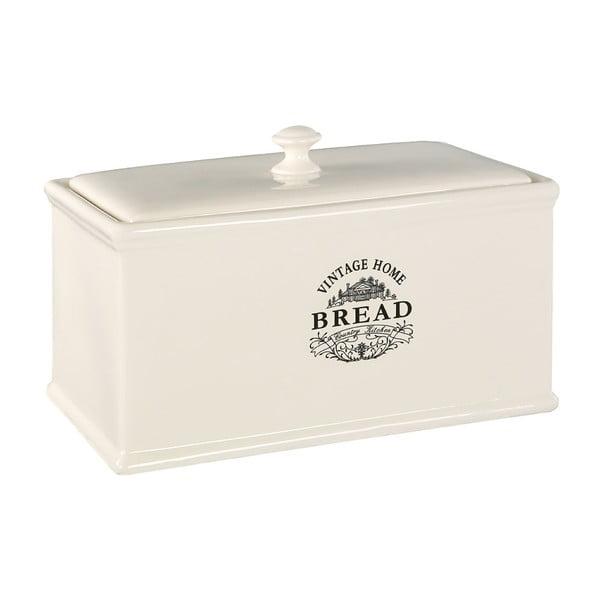 Krémový keramický chlebník Premier Housewares Vintage Home