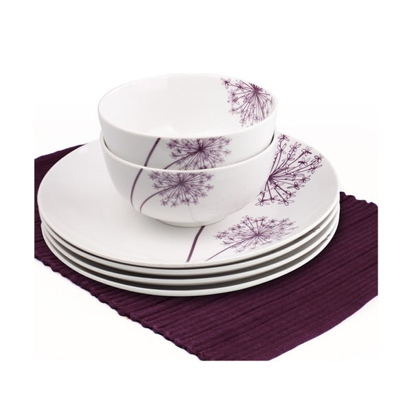 Porcelánový set Allium, 12 ks