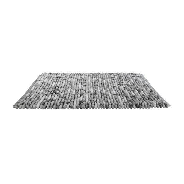 Covor baie Wenko Smooth Grey, 90 x 60 cm, gri