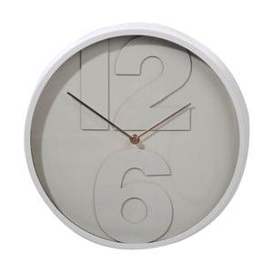 Hodiny Numbers Grey, 32 cm
