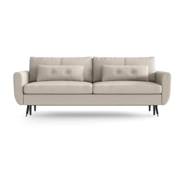 Alchimia Beige bézs háromszemélyes kinyitható kanapé - Daniel Hechter Home