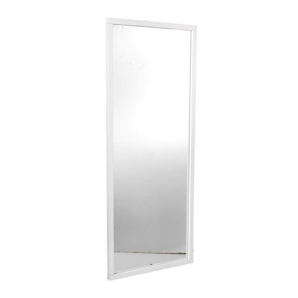 Oglindă cu ramă din lemn de stejar  Folke Gefjun, alb