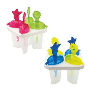 Set 8 forme pentru înghețată pe băț Snips Mister imagine