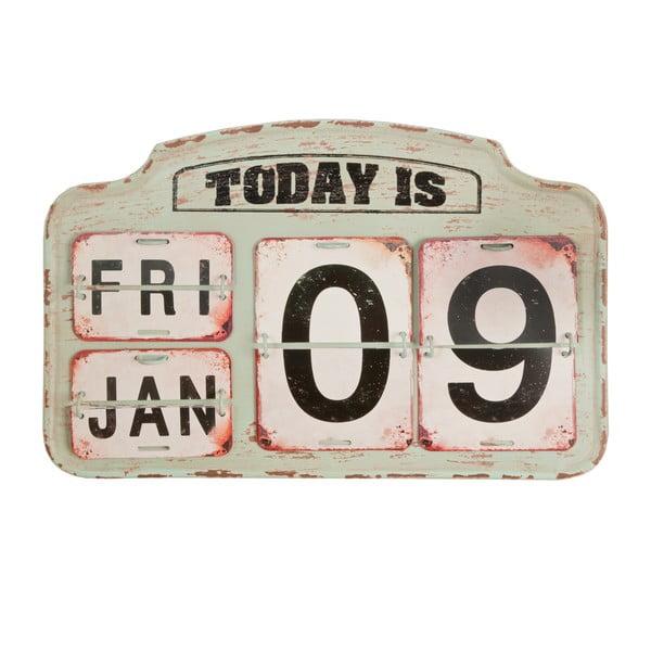 Béžový kalendář Clayre & Eef