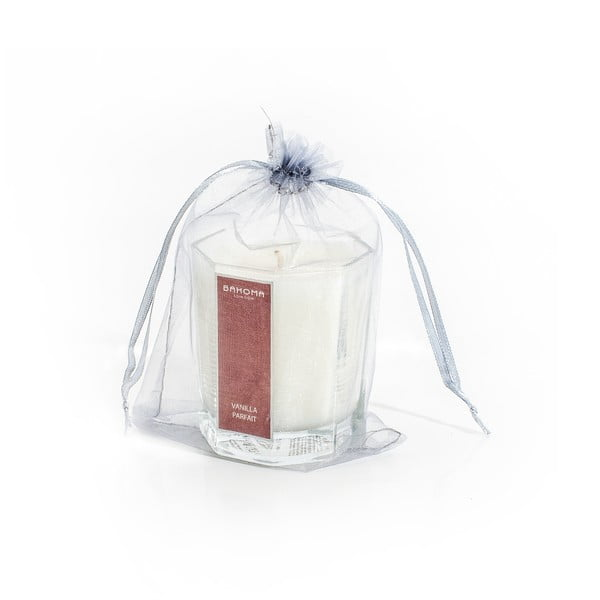 Vonná sviečka s vôňou jantáru a jazmínu Bahoma London Octagonal Cangle in Organza Bag