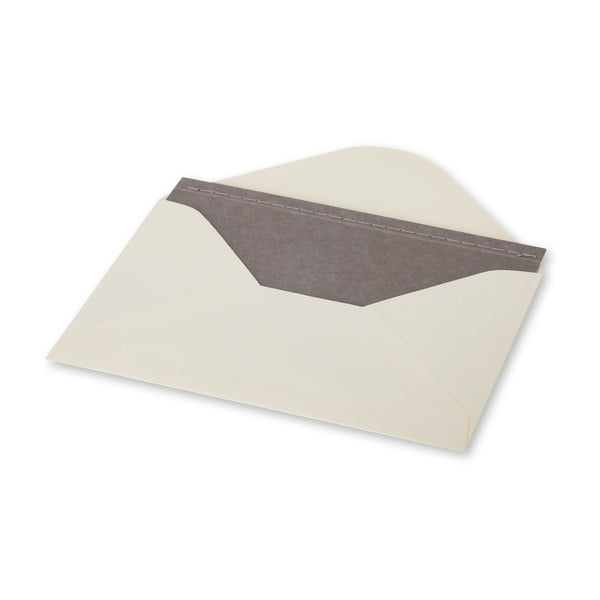 Dopisní set Moleskine Light Grey, zápisník + obálka