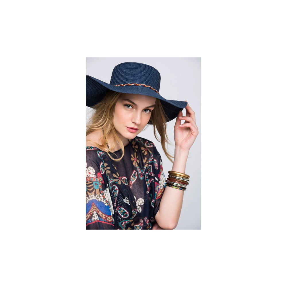 Tmavě modrý dámský klobouk NW Elsa  abff951fd4