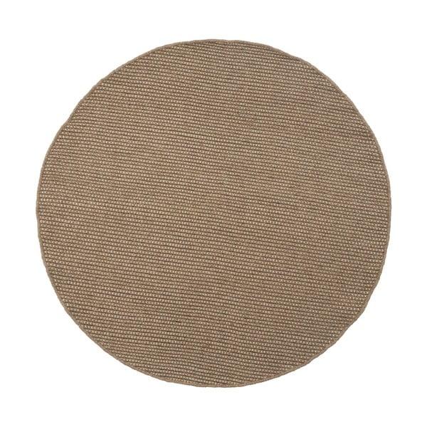 Vlněný koberec Asko, 150 cm, šedý