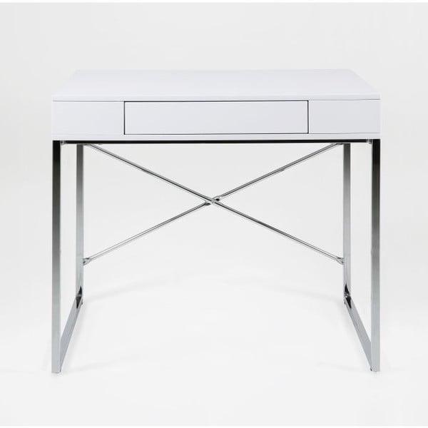 Bílý pracovní stůl Actona Vallez