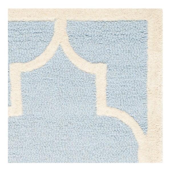 Vlněný koberec Safavieh Lola Sky, 91x152 cm