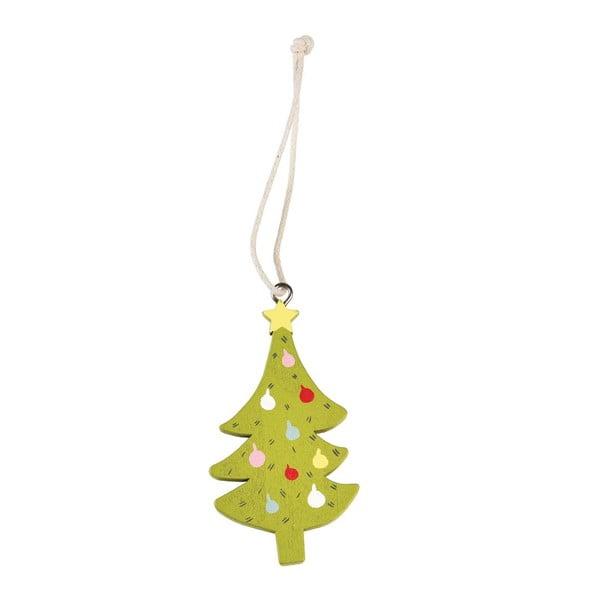 Decorațiune din lemn pentru bradul de Crăciun Rex London Tree