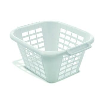 Coș de rufe Addis Square Laundry Basket, 24 l, alb imagine