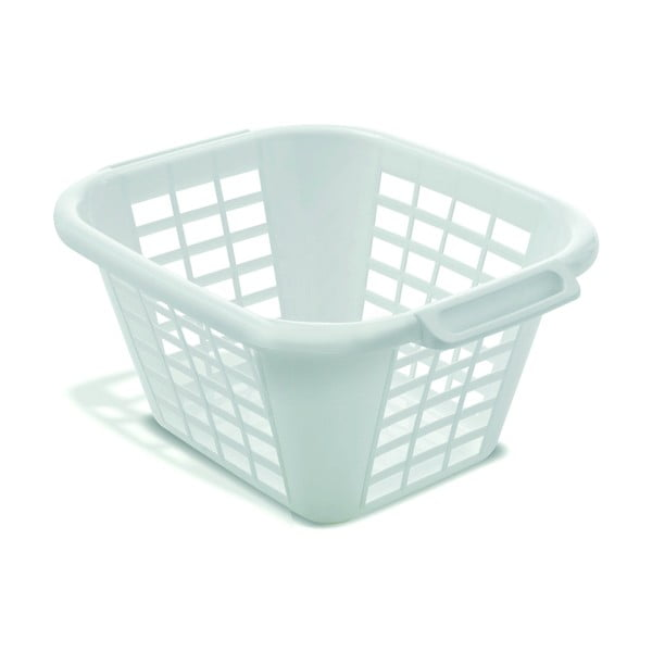 Biely kôš na bielizeň Addis Square Laundry Basket, 24 l