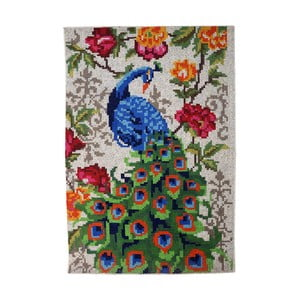 Ručně vyráběný koberec The Rug Republic Pushkar Ivory, 160 x 230 cm