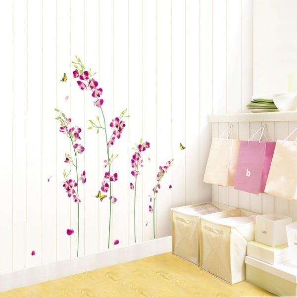 Autocolant Orchids Flowers