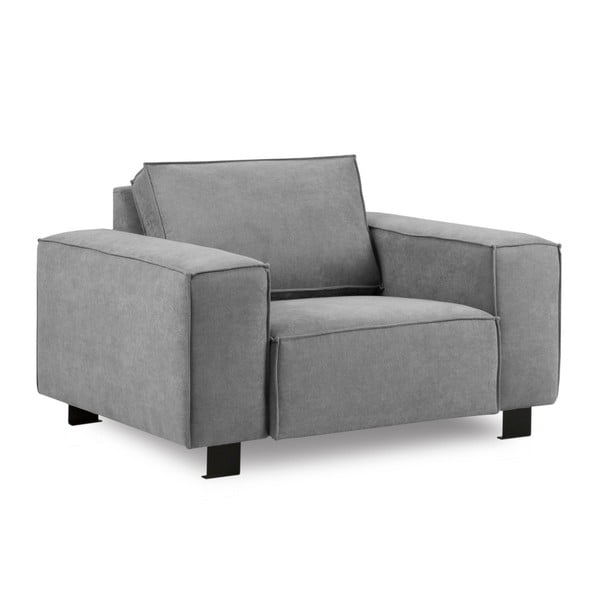 Szary fotel Kooko Home Modern