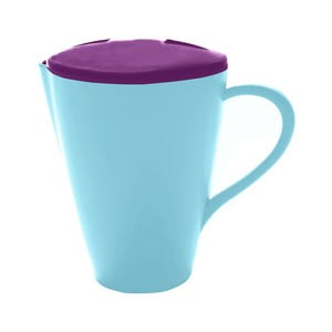 Modrý džbánek s víkem PT Kitchen Jar Juicy, 750ml