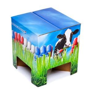 Stolička Dutch Design Chair World Tulips