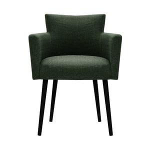 Tmavě zelená židle Corinne Cobson Billie