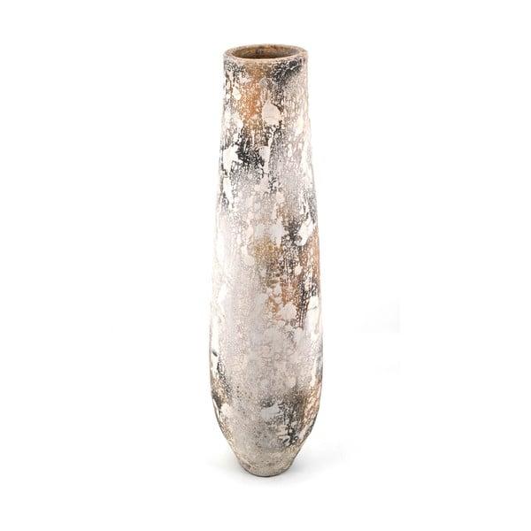 Terakotová váza Ochre, výška 100 cm