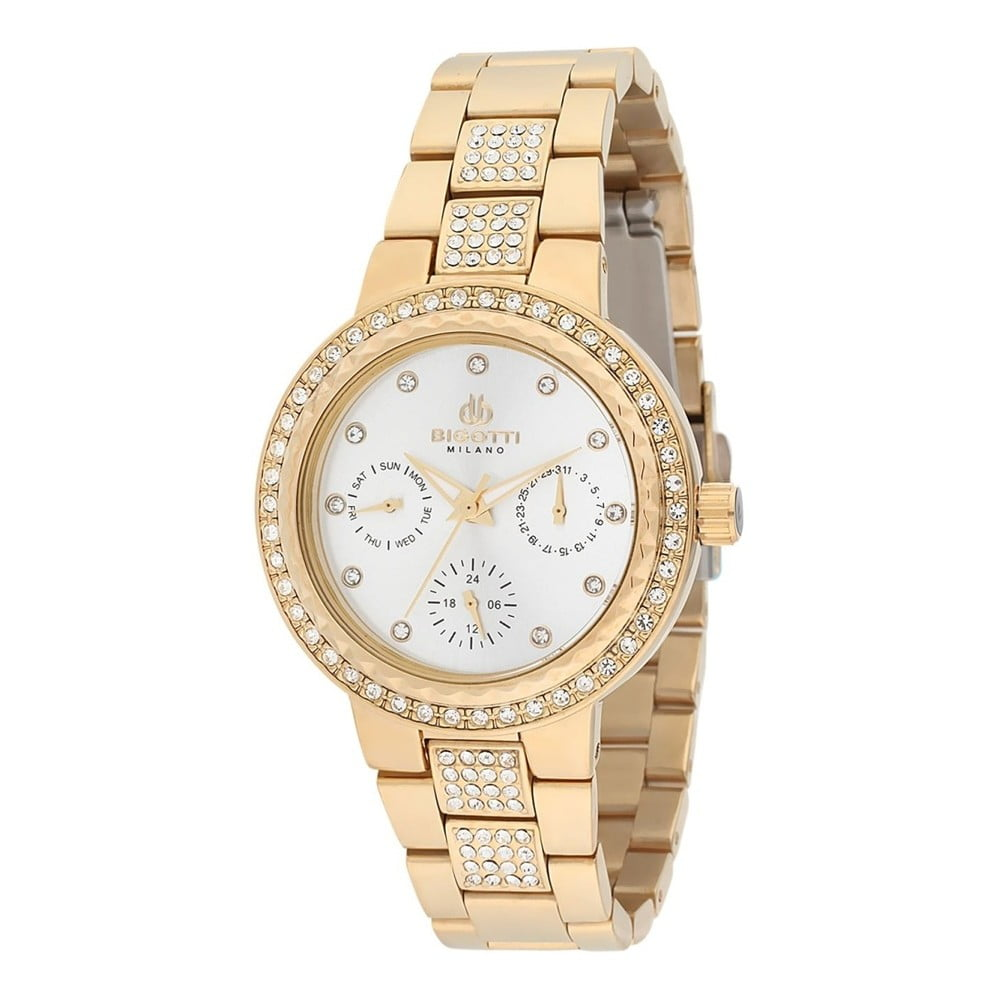 eba0452b01 Dámské hodinky zlaté barvy z nerezové oceli Bigotti Milano Cindy ...